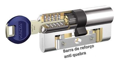 Cilindro de Alta Segurança KABA Matrix