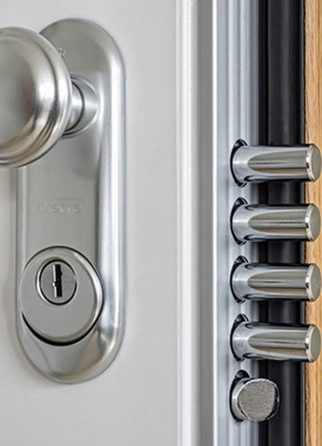 Segurança e Design, Série certificada em segurança e abatimento acústico, variedade de acabamentos.